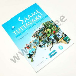 Silva Tomingas - SAAME TUTTAVAKS! ESTONIAN FOR BEGINNERS. TEXTBOOK + 4 AUDIO CD-S - TEA 2011