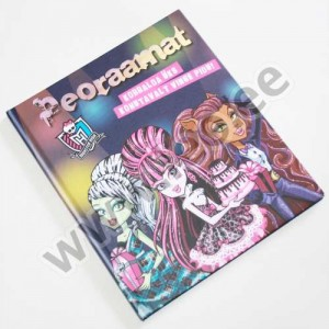 PEORAAMAT. MONSTER HIGH - Egmont Estonia 2013